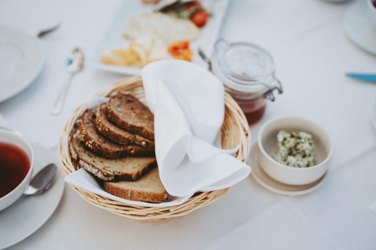 Frühstück im Hotel Fast