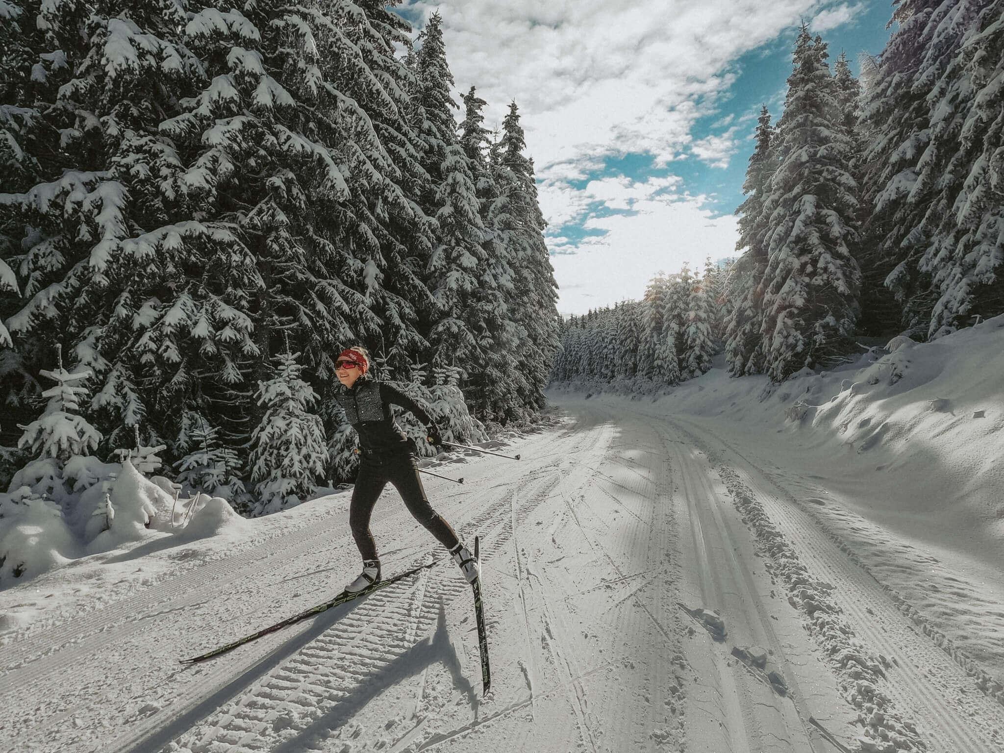 Langlaufen Hotel Fast Rablkreuz Loipen