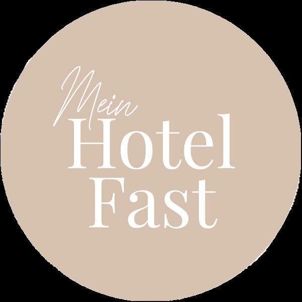 Mein Hotel Fast - Logo im Kreis